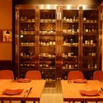 Italian Bar guri - 常時100種類以上のワインがお出迎え