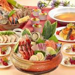 とれとれ海鮮 浜の大将 - 料理写真:これでどや豪快盛ちゃんこ鍋コース