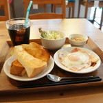 フェイス - 料理写真:モーニングBセット500円