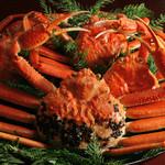 日本料理 越前かに料理 やなぎ町 - 桜コース+ズワイガニ(1名様で1パイ) ※黄色タグ無 の写真