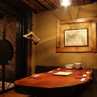 【個室】隠れ家空間は多様なシチュエーションに。