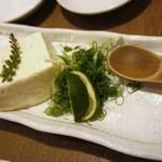 なかみち 名西酒蔵 - 駒沢の美味しい豆腐・550円=14年10月