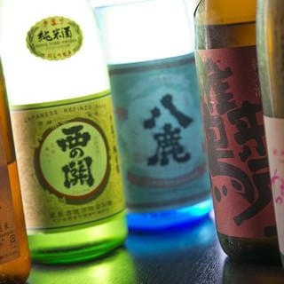 大分の日本酒・焼酎等、ドリンクの種類が豊富!