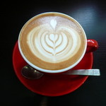 Alpha Betti Cafe - カフェオレ