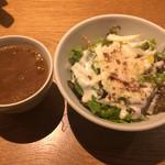 31991388 - スープとサラダ