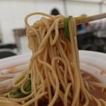徳島ラーメン 岩田家 - 中太麺