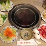 肉のオオクラ - 料理写真:すき焼き