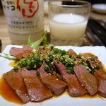 神戸焼肉かんてき - お通しからハツ