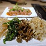 神戸焼肉かんてき - ナムル盛合わせ 780円