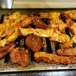 神戸焼肉かんてき - 二人前用極上肉盛 6800円