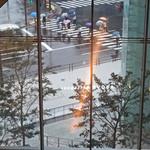 ジローナ - ジローナ窓から見た雨の虎の門