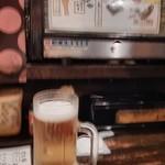 ケンゾーカフェ - 生ビールでスタート!