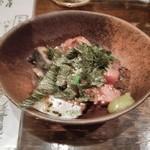 ケンゾーカフェ - ゴマ鯖