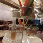 海麦酒 - バーニャカウダー