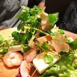 Nami - 小海老・豆腐・長芋のおいしいサラダ