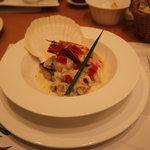 洋食屋アニバーサリー 永遠 - 海の幸のクリームソース~スープ仕立て~