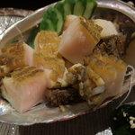 壱岐寿司 - 蒸し鮑
