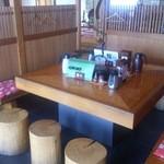 直利庵 - 内観 2014.10撮影  ここで食べました