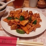 32000528 - 鶏の唐辛子味噌炒め 990円