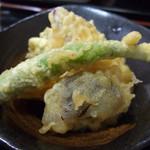 藤吉郎 - 小鉢(天ぷら)