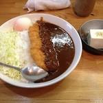 かつ善 - ロースカツカレー950円