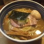 こうかいぼう - 味玉入りラーメン(大盛り)(14-10)¥850