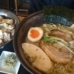 和風らーめん 凪 - 塩ラーメン+丼