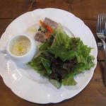 ピッツェリア ルナ - ランチの前菜