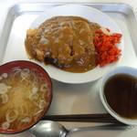 玉屋食堂 - カツカレー 650円