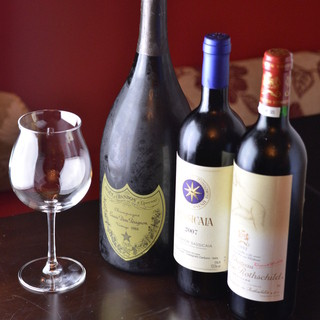 厳選したワイン