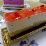 ティーズスタイル - りんご&ムースケーキ:420円(2014.10月)