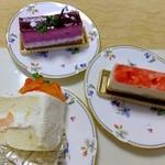 ティーズスタイル - ケーキ達:各420円※税込(2014.10月)