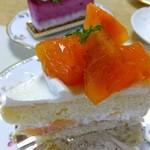 ティーズスタイル - 柿のケーキ:420円(2014.10月)