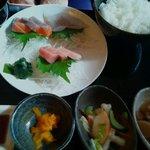 魚とん - 刺身ランチ