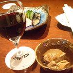 949 - ワイン・お通し・お新香