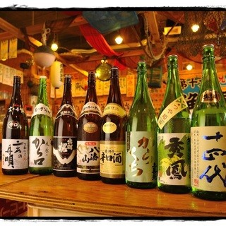 山形の地酒が豊富40種類以上取り揃え
