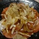 和彩処 旬 - トマトと玉ねぎのサラダ