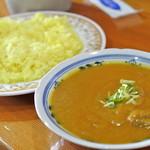 インドカレーアハメド - インドカレーアハメド出雲店・キーマカレー¥780(2014.07)