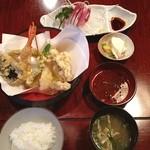 天久 - 料理写真:なかなか良い天ぷら屋さんでした(^o^)/ これから敦賀に向かいまーす❗️