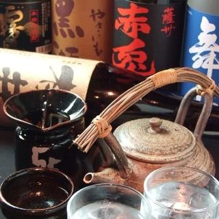 こだわりの焼酎、全国各地の日本酒