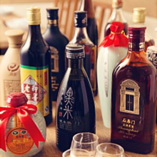 豊富な中国酒をご用意しております