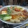 宮の朝 - 料理写真:2011年の부대찌개(部隊鍋)