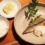 魚料理 ろっこん - 焼魚御膳