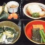 京懐石 りほう - 替り弁当 副菜4皿