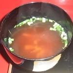 京懐石 りほう - 替り弁当 味噌汁
