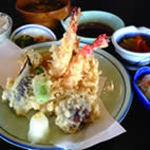 天ぷら盛合わせ定食