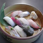 近海地魚のにぎり寿司 9貫