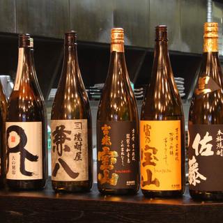 種類豊富なお酒!