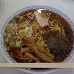 おおもり食堂 - ラーメン(大) (600円)