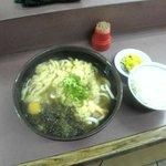Nishiguchiudon - 超スタミナ(ライス付)
